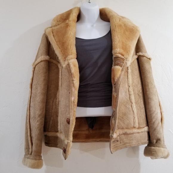 Ardney Collection Suede Lamb 100% Virgin Wool Coat